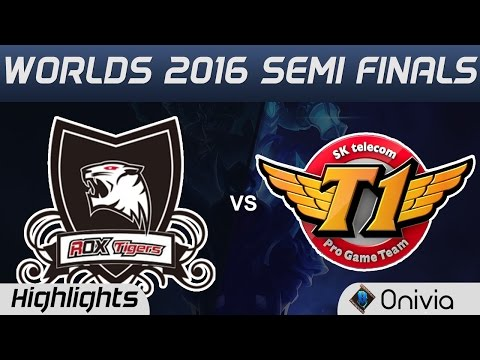 ROX vs SKT Highlights Game 4 Worlds 2016 Semi Finals ROX Tigers vs SK Telecom T1