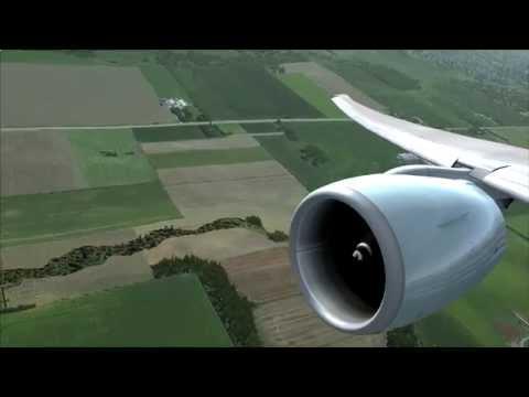 FSX - Flytampa Toronto - PMDG 777 - Landing
