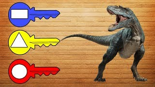 Dinosaur Cage - Game for kids