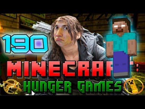 EPIC Minecraft: Hunger Games w/Mitch! Game 190 - HEROBRINE'S TRAP!