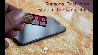 Dual Volte Support Motorola One-Power