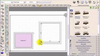 Arquitecto 3D 7.0 - Tutorial video #3: Habitaciones