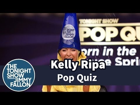 Pop Quiz with Kelly Ripa -- Part 2