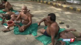 Tamil Nadu farmers protest enters 11th day : reporter update | News7 Tamil