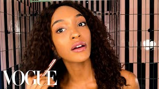 Jourdan Dunn Reveals the Secret Behind Her Model Glow | Beauty Secrets | Vogue