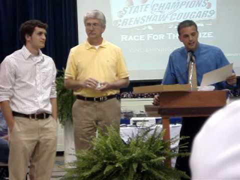 Crenshaw Christian Academy Varsity Boys Basketball Sports Banquet Part 2 - 05/26/2009