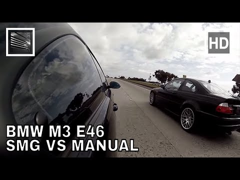BMW M3 E46 SMG vs Manual