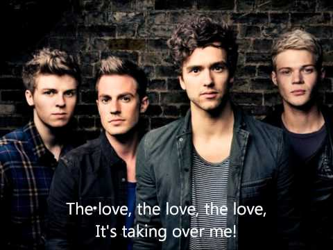 Taking Over Me - Lawson Lyrics video