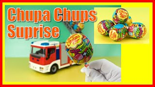 Chupa Chups Surprise Egg Sticky Zoo opening. Videos for Children.