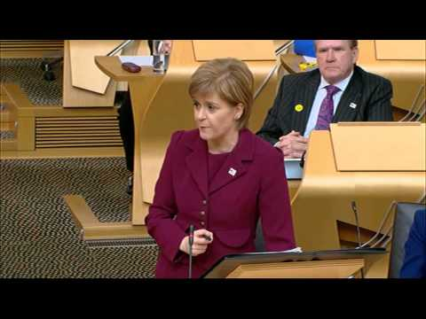 First Minister's Questions - Scottish Parliament: 30th April 2015