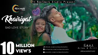 Khairiyat | Chhichhore | Nitesh Tiwari | Arijit Singh | Sad Love Story | hindi song 2019