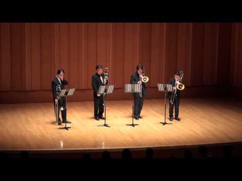 "Download ""A song for japan"" Japan XO Trombone Quartet"