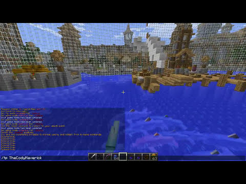 Minecraft Mods | MORPH HIDE AND SEEK - JAWS MOD EDITION! (Sharks Mod, Dolphins, Shark Bay)