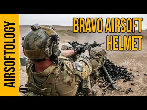 Bravo Airsoft Helmet Review - A Brain Bucket on the Cheap    Airsoftology Review