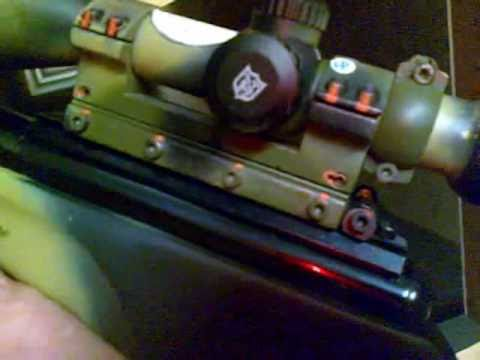 Air Rifle - BSA XL Tactical parte 2.avi