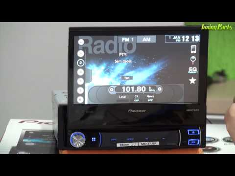 DVD Pioneer AVH-X7580BT - Demonstração