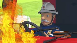 Station Officer Steele takes Charge of the Fire Truck! 🔥Best Rescue Compilation | Fireman Sam US
