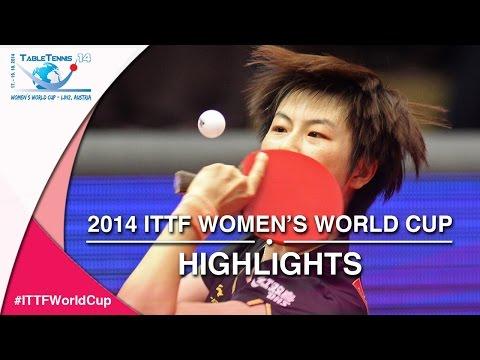 2014 ITTF Women's World Cup   Match Highlights  Ding Ning vs  Ishikawa Kasumi Semi Final