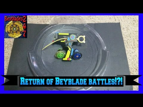 Epic Beyblade Battle Videos Are Back!?!?!?!? video