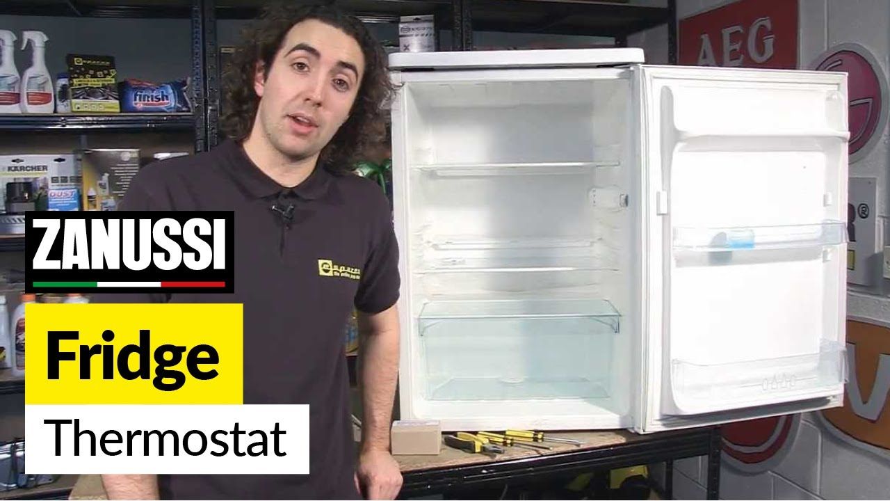 How to Replace a Fridge Thermostat  Zanussi  YouTube