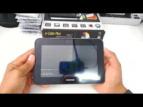 Hard Reset Tablet Positivo Ypy BGH L700+. Como formatar. Desbloquear. Restaurar