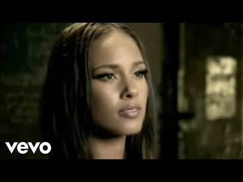 Alicia Keys - Try Sleeping With A Broken Heart Video