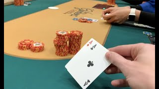 UNBELIEVABLE When I'm ALL IN w ACES!!! MUST SEE!! Poker Vlog Ep 114