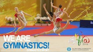 2018 Rhythmic Worlds Sofia – All-around Groups, highlights – We are Gymnastics !