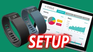 How To Setup FitBit Charge Fitness Band