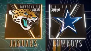 MADDEN 19 JACKSONVILLE JAGUARS VS DALLAS COWBOYS FULL GAMEPLAY ALL MADDEN