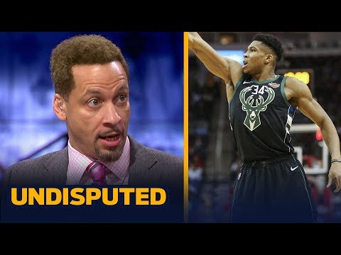 Chris Broussard was 'more impressed' with Giannis' performance than James Harden | NBA | UNDISPUTED