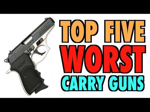TOP FIVE Worst Carry Guns!