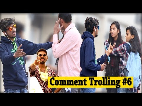 Dhanush (MAARI) Dialogue ,Tu Meri hai Prank On Girls -Comment Trolling | Pranks in india |Prank 2018