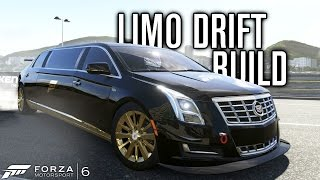 CADILLAC XTS LIMO DRIFT BUILD?! | Forza Motorsport 6