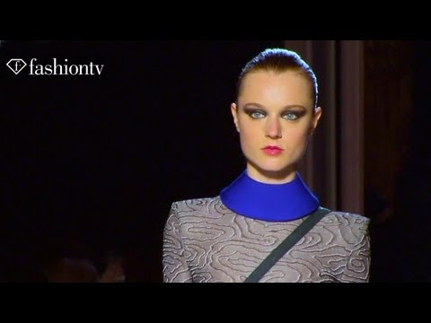 Roland Mouret Fall/Winter 2013-14 FIRST LOOK | Paris Fashion Week PFW | FashionTV
