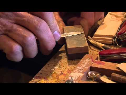 How To Sharpen A Knife  With Author Chris Lubkemann - Part 1 of 2