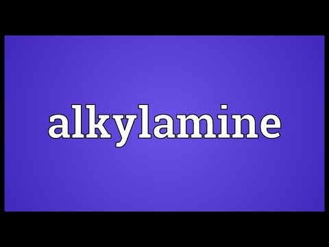 Header of Alkylamine