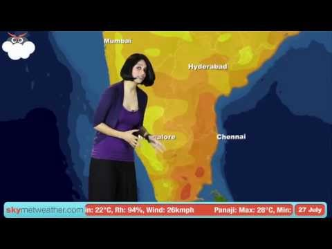 27 July Monsoon Update: Skymet Weather