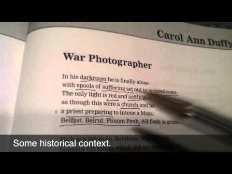 war photographer critical essay