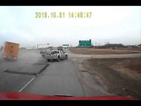 Winnipeg Mb Crash on Preimeter (Trans canada) and Budd rd. Oct 31, 2013