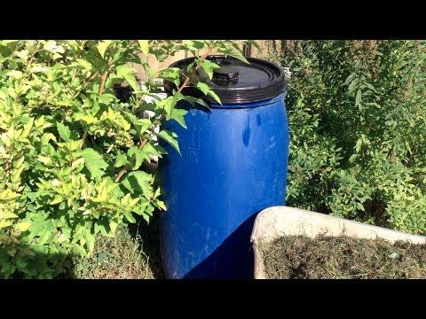 178. Травяная, зольная, дрожжевая подкормки для хорошего урожая