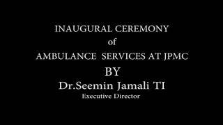 JPMC Ambulance service
