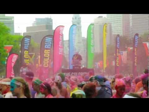 THE COLOR RUN� - Philadelphia EXPLODES with 26,000 Color Runners�!