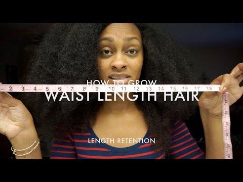How To Grow Waist Length Hair (Length Retention)