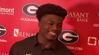 "Azeez Ojulari on the ""fallout"" following the SC loss—and does he want his brother, B.J., at UGA?"