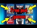 How to get free ps4 game  [OCTOBER 2018] *WORKING