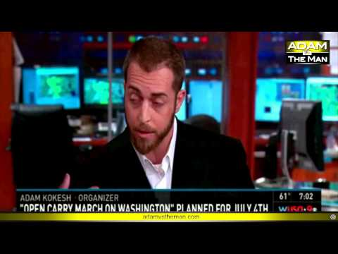 Adam Kokesh on CBS DC WUSA9 #OpenCarry130704