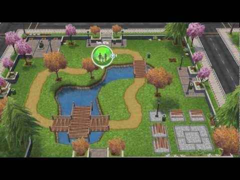 The Sims Freeplay-The Park
