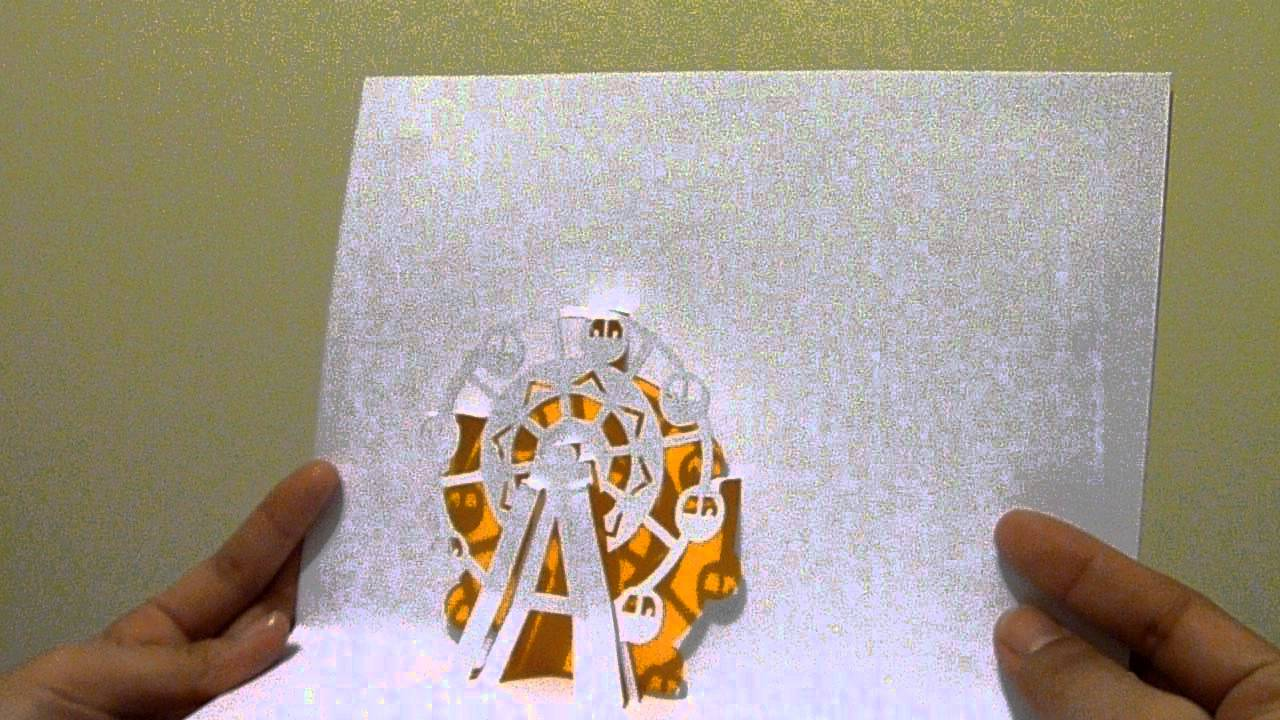 Ferris Wheel Card Ferris Wheel Pop Up.mov