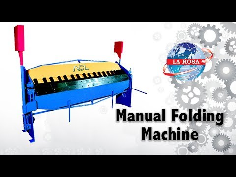 Manual Folding Machine (Box & Pan Brake)